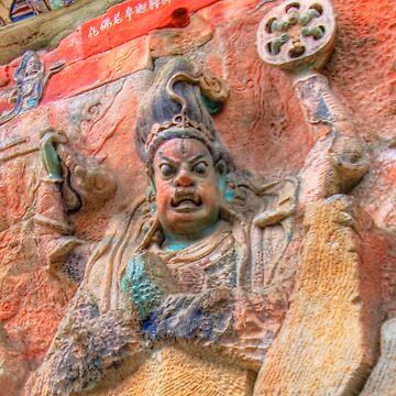 Chinese Bodhisattva by davidmcbride