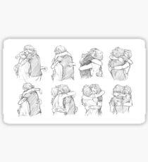 Best Hug Sticker