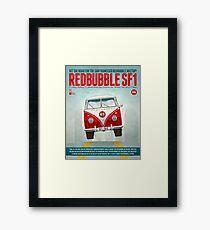 SF1 Poster Challenge Framed Print