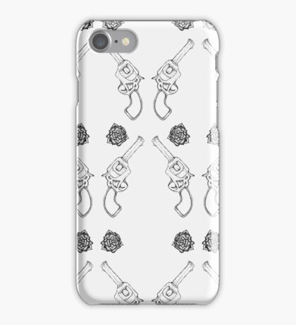The Gun and the Rose iPhone Case/Skin