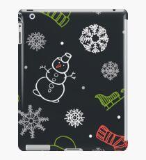 Beautiful winter seamless ornament for christmas winter design iPad Case/Skin