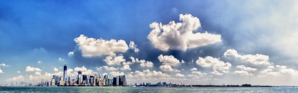New York - Downtown Panorama by Cr4zy