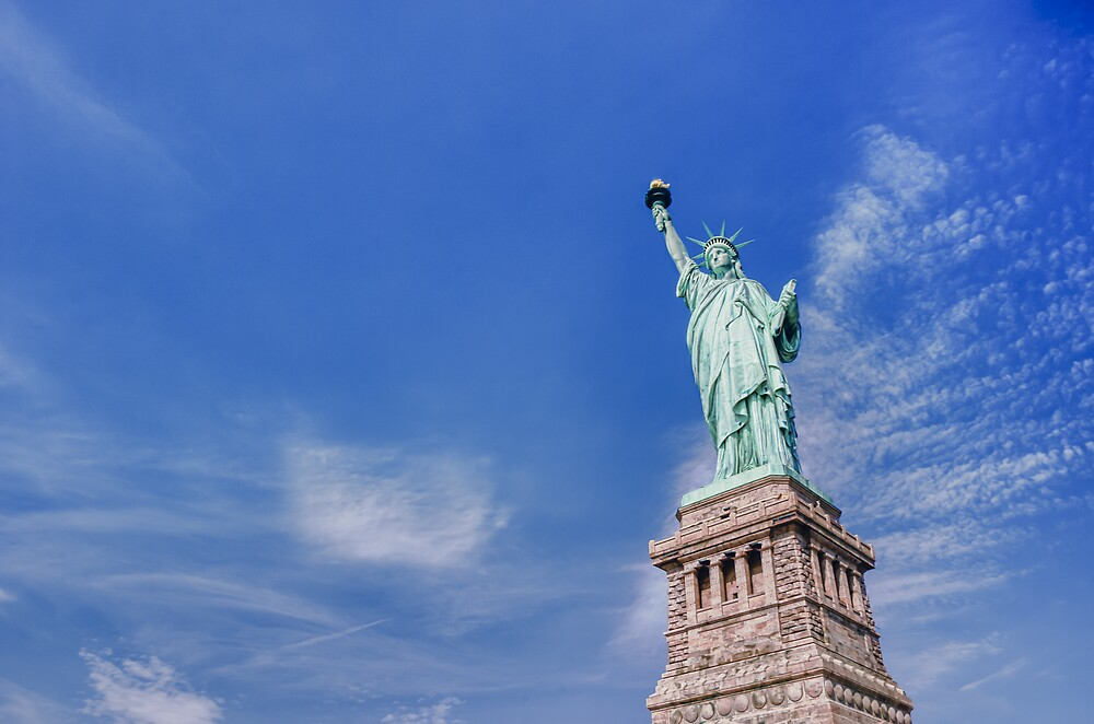 New York - Statue of Liberty by Cr4zy