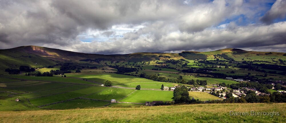 The Hope Valley Derbyshire by Darren Burroughs