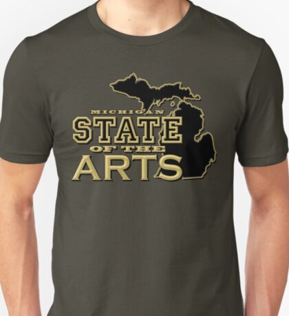Michigan: State of the Arts T-Shirt