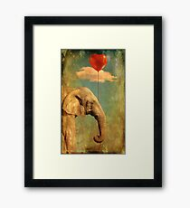 Alone In My World Framed Print