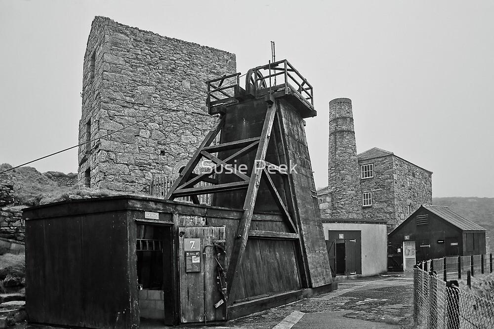 Levant Tin Mine ~ Cornwall by Susie Peek