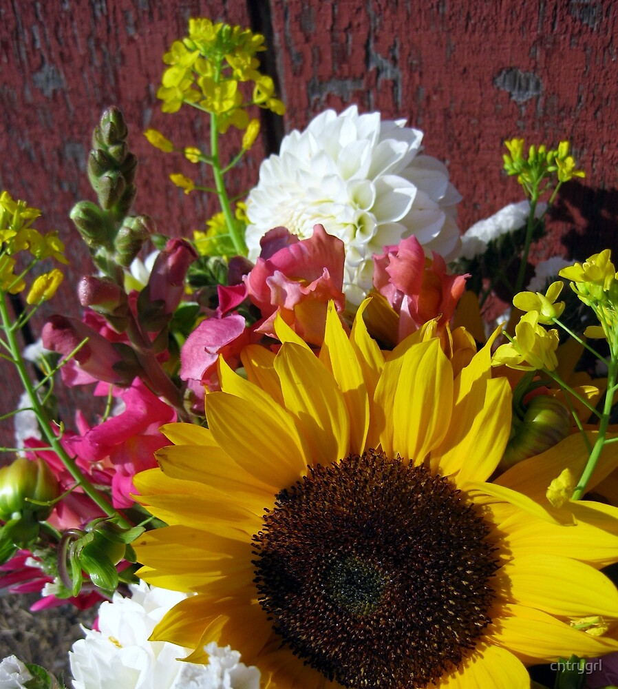 Country Bouquet by cntrygrl