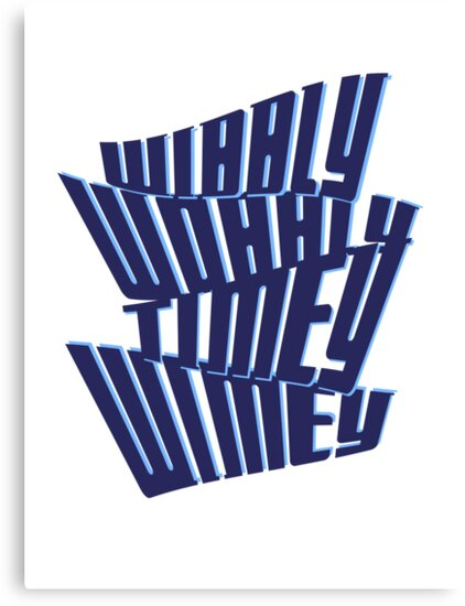 Wibbly Wobbly Timey Wimey by undesirable