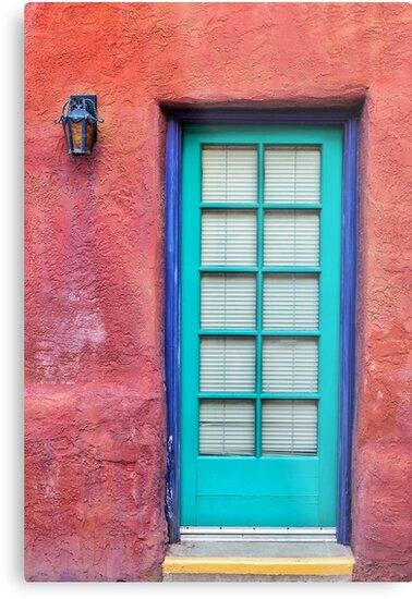 Blue door by Matt Suess