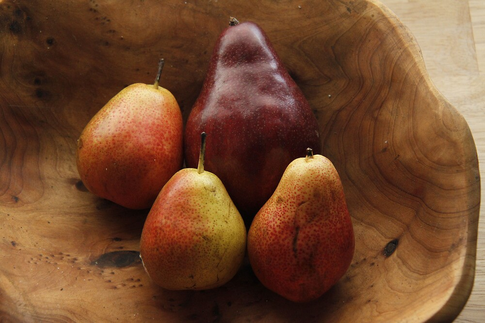 Four Pears by Jay Reed
