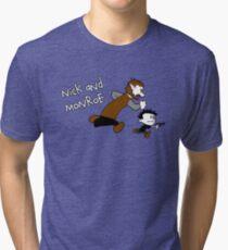 Nick And Monroe Tri-blend T-Shirt