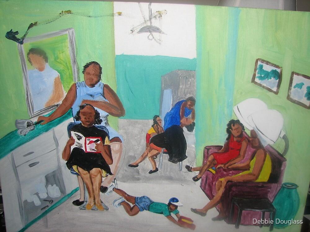 Miss Audrey's Hair Salon by Debbie Douglass