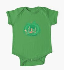 The Bookworm's Haven Short Sleeve Baby One-Piece