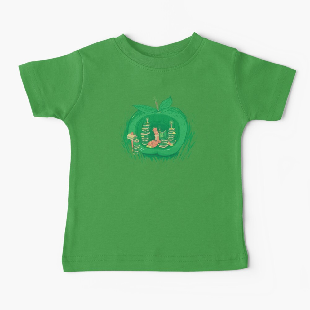 The Bookworm's Haven Baby T-Shirt