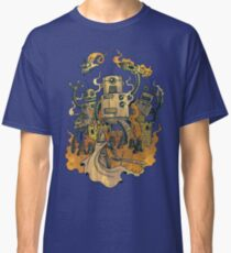 The Robots Come Out At Knight Classic T-Shirt