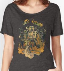 The Robots Come Out At Knight Women's Relaxed Fit T-Shirt