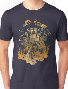 The Robots Come Out At Knight T-Shirt
