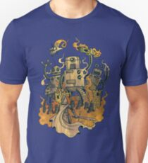 The Robots Come Out At Knight Unisex T-Shirt