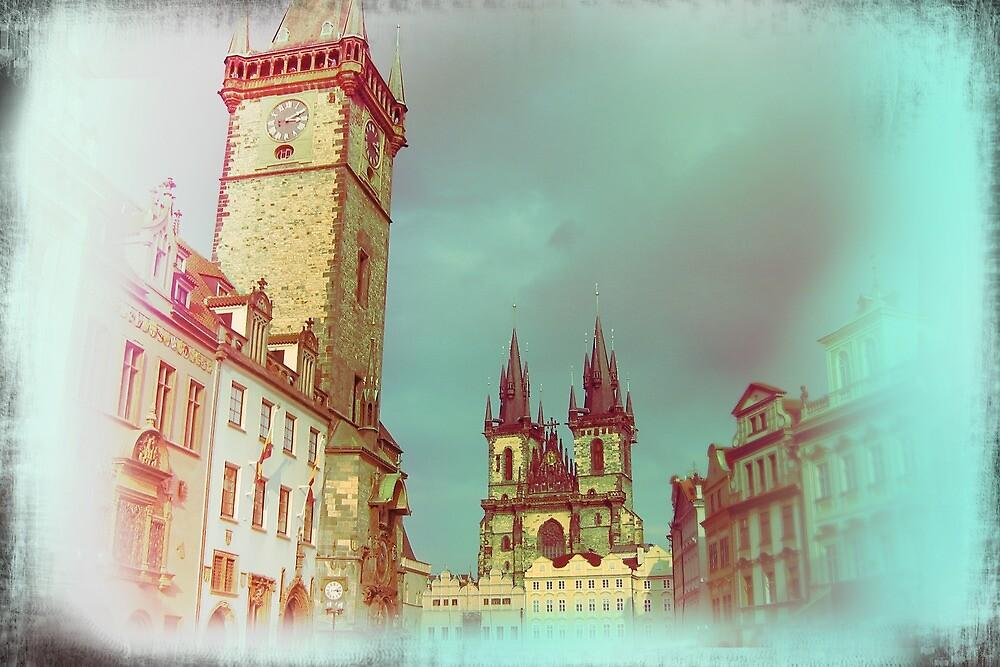 Prague in Spring by Designmaus
