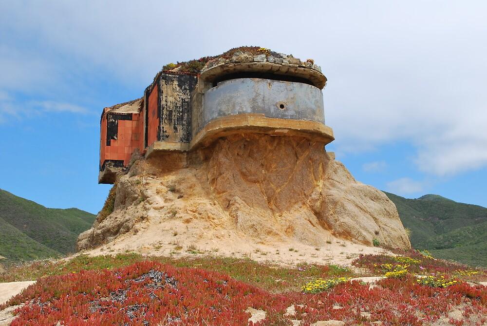 Bunker Below Pacifica by Sunnygolden