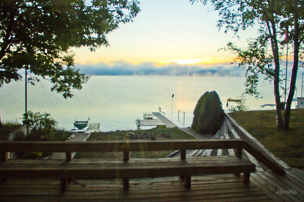 Dock Sunrise by alexela