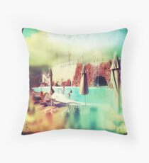 Spain-time is always now. Throw Pillow