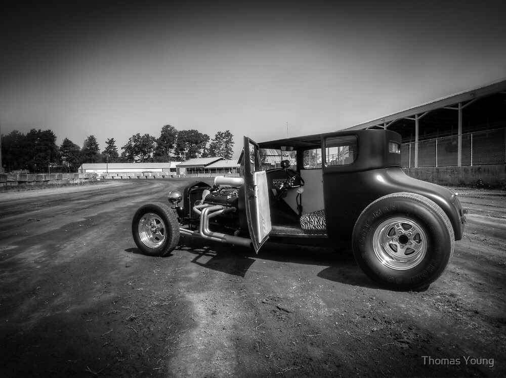 Racing Hot Rod by Thomas Young
