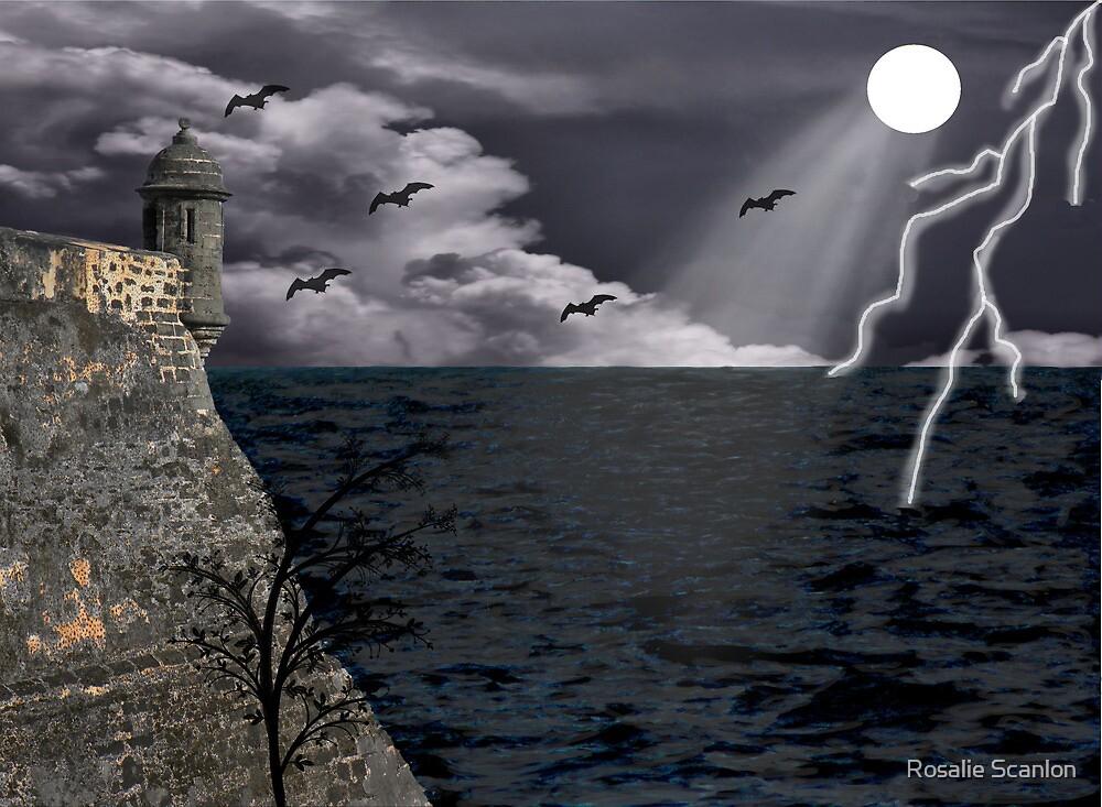 Halloween Scene  by Rosalie Scanlon