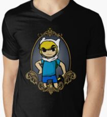 Legend Of Zelda - Zelda Time Men's V-Neck T-Shirt