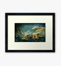 Welcome To Paradise  Framed Print