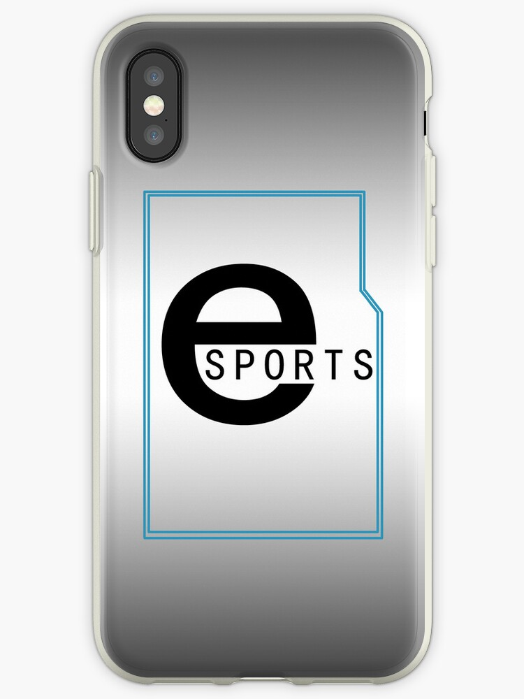 eSports iPhone / iPod Cover - Black Gradient by Aaron Campbell