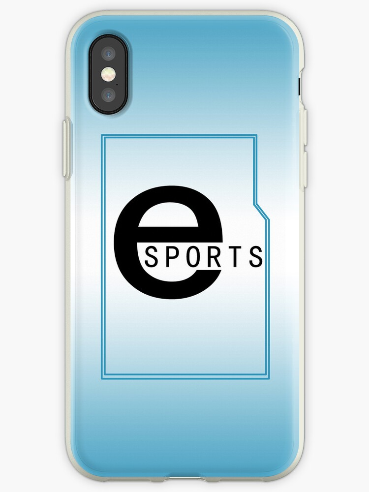 eSports iPhone / iPod Cover - Blue Gradient by Aaron Campbell