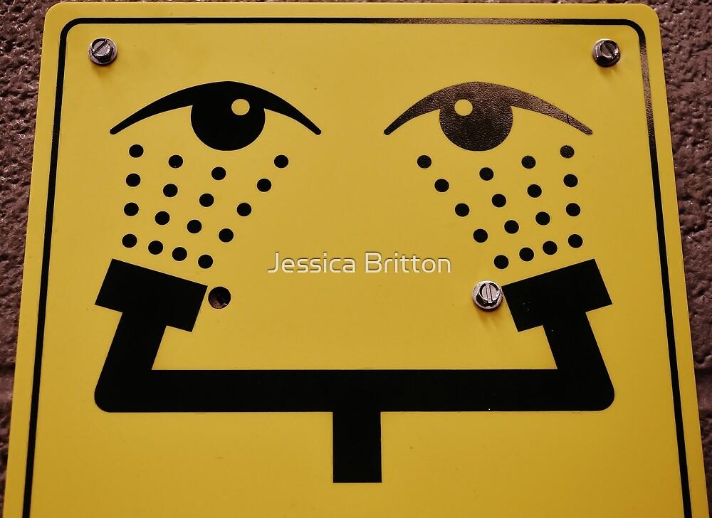 Eye Wash Fountain  by Jessica Britton