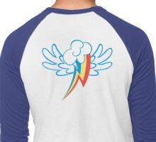 Rainbow Dash Cutie Wings Men's Baseball ¾ T-Shirt