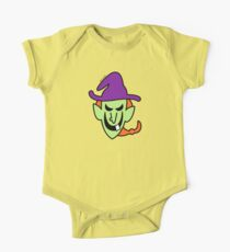 Naughty Halloween Witch One Piece - Short Sleeve
