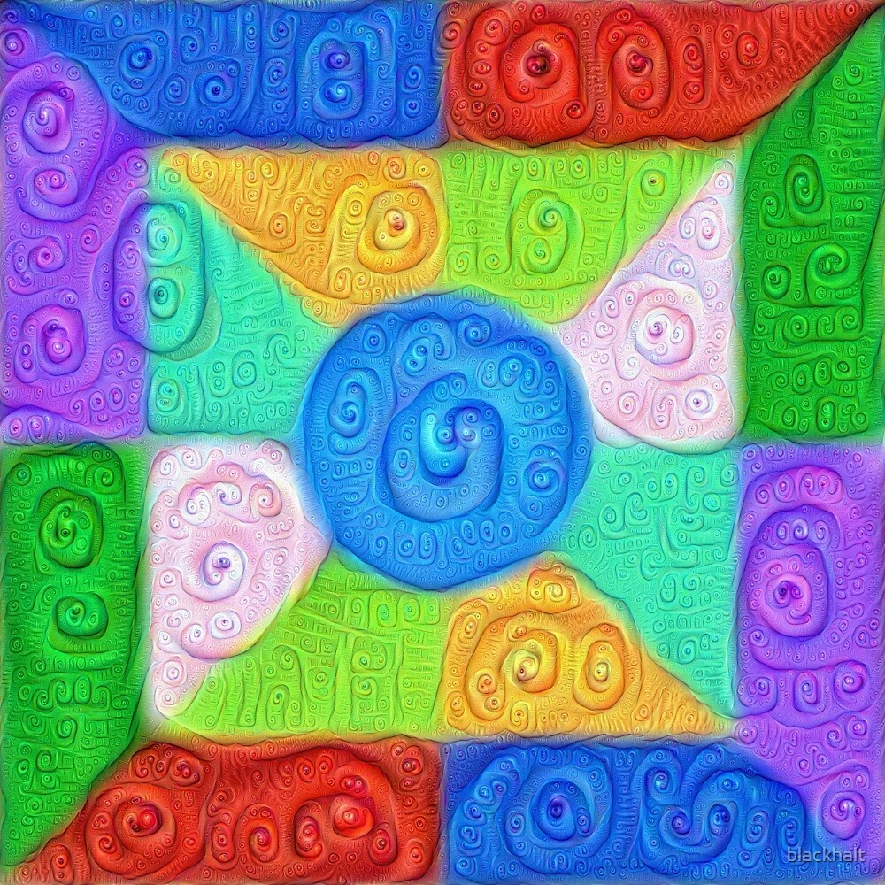 DeepDream Color Squares Visual Areas 5x5K v17 by blackhalt