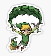 Legend Of Zelda - Flying Away Sticker