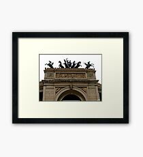 City tour Palermo Framed Print