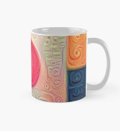 DeepDream Color Squares Visual Areas 5x5K v18 Mug