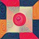DeepDream Color Squares Visual Areas 5x5K v18 by blackhalt