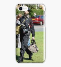 OFF TO REPORT iPhone Case/Skin