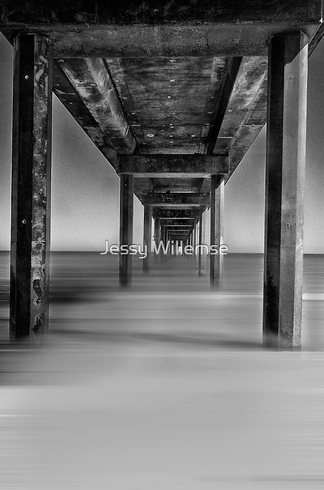 Brighton jetty by Jessy Willemse