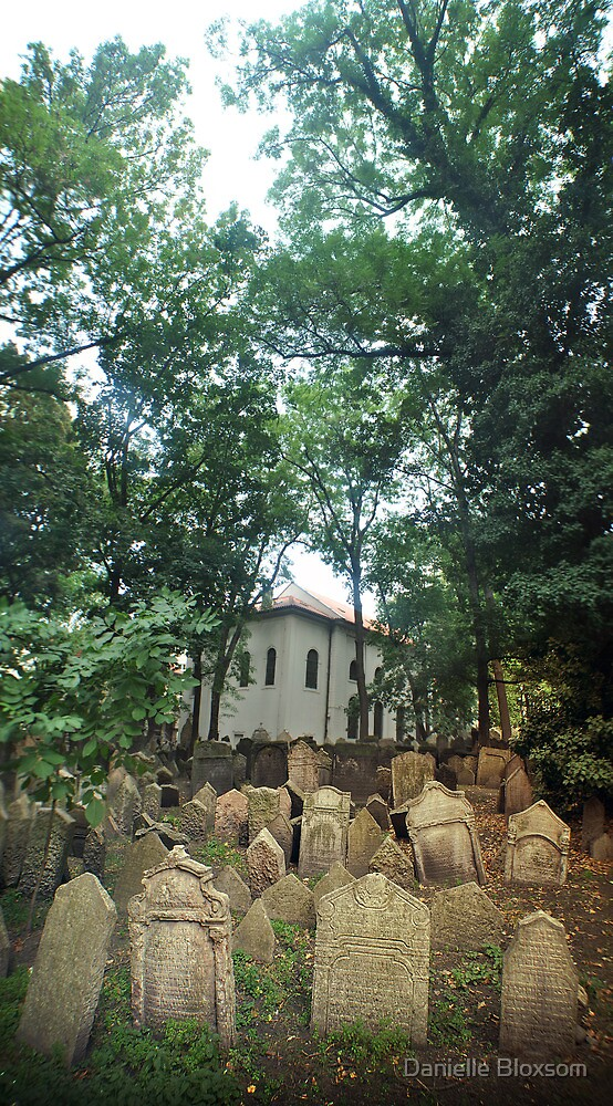 Old Jewish Cemetery, Prague by Danielle Bloxsom