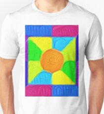 DeepDream Color Squares Visual Areas 5x5K v19 Slim Fit T-Shirt