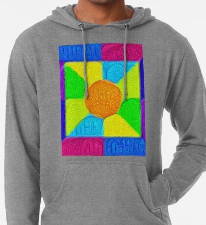 DeepDream Color Squares Visual Areas 5x5K v19 Lightweight Hoodie