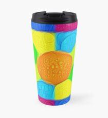 DeepDream Color Squares Visual Areas 5x5K v19 Travel Mug