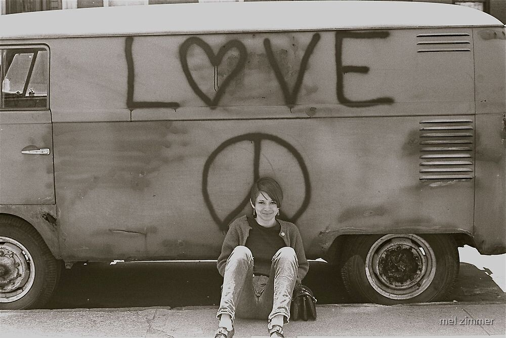 Rita Wreck and The Love Bus by mel zimmer