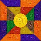 DeepDream Color Squares Visual Areas 5x5K v20 by blackhalt