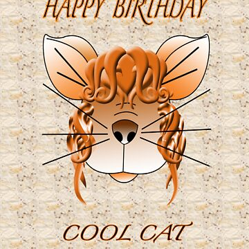 Cool Cat digital Illustrtion by artistonline